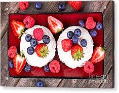 Summer Fruit Platter Acrylic Print