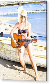 Summer Fun And Entertainment Acrylic Print