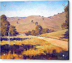 Summer Landscape Acrylic Print by Graham Gercken