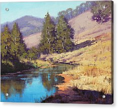 Summer River  Acrylic Print by Graham Gercken