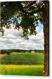 Summer Shade Acrylic Print by Dan Sproul