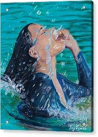 Summer Splash Acrylic Print
