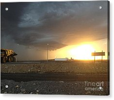 Summer Storm Acrylic Print by Barry Olsen