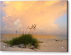 Summer Sunrise On Nokomis Beach Acrylic Print