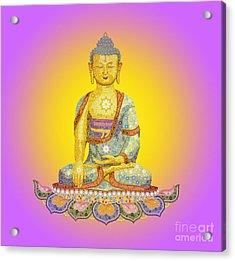 Sun Buddha Acrylic Print by Tim Gainey