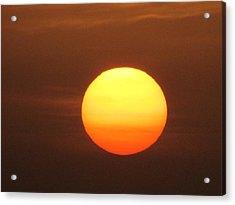 Sundown Acrylic Print by Andrea Dale