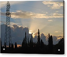 Sunrise Acrylic Print by George Katechis