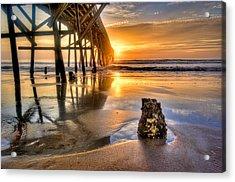Sunrise In Myrtle Beach Acrylic Print