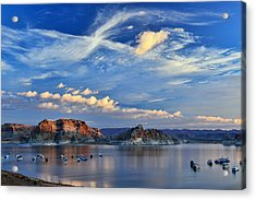 Sunrise Over Lake Powell Az Acrylic Print