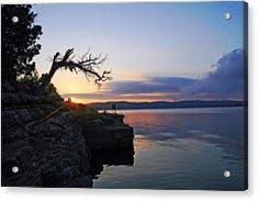 Sunrise Over Table Rock Lake Acrylic Print
