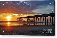 Sunrise Panorama  16x9 Ratio Acrylic Print