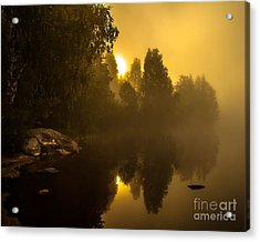 Acrylic Print featuring the photograph Sunrise by Rose-Maries Pictures