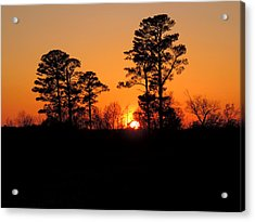 Sunset 7 Acrylic Print by Stephanie Kendall