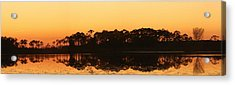 Sunset At St. Mark's Acrylic Print by Karen Lindquist