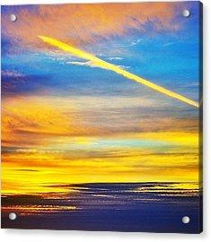 Californian Sunset Acrylic Print