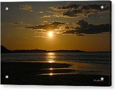 Acrylic Print featuring the photograph Sunset On Crane Beach by AnnaJanessa PhotoArt