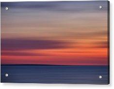 Sunset Over Herring Cove 002 Acrylic Print