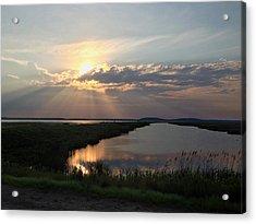 Sunset Rays Acrylic Print