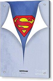 Superman 9 Acrylic Print by Mark Ashkenazi