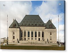 Supreme Court Of Canada Building Acrylic Print