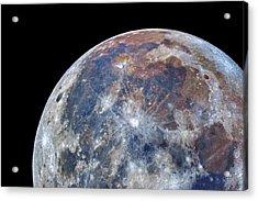 Surface Of The Moon Acrylic Print
