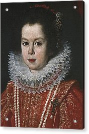 Sustermans, Joost 1597-1681. Portrait Acrylic Print