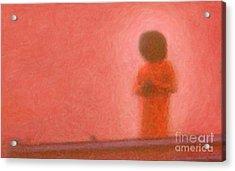 Swami Acrylic Print