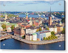 Sweden, Stockholm - The Old Town Acrylic Print