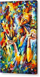 Sweet Dreams Acrylic Print by Leonid Afremov