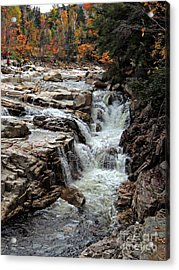 Swift River Acrylic Print by Marcia Lee Jones
