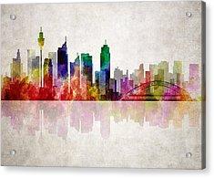 Sydney Australia Skyline Acrylic Print by Daniel Hagerman