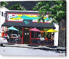 Taco Loco Acrylic Print by Paul Guyer
