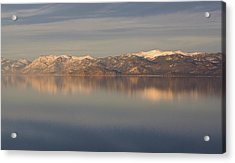 Tahoe Acrylic Print by Alison Miles