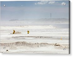 Tailings Pond At The Syncrude Mine Acrylic Print