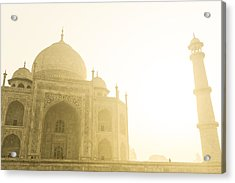 Taj Mahal In The Morning Acrylic Print