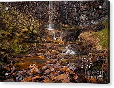 Talisker Waterfall Acrylic Print by Maciej Markiewicz