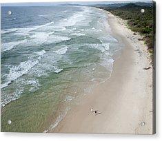 Tallow Beach Near Byron Bay, New South Acrylic Print