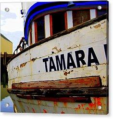 Tamara Acrylic Print by Mamie Gunning