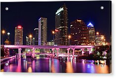 Tampa Colors Acrylic Print by Frozen in Time Fine Art Photography