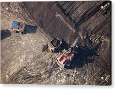 Tar Sands Deposit Mine Acrylic Print by Ashley Cooper