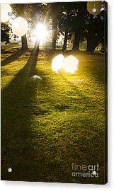 Tasmanian Countryside Landscape. Sun Shower Acrylic Print by Jorgo Photography - Wall Art Gallery
