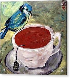 Tea Time  Acrylic Print by Reina Resto