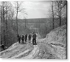 Tennessee Roads, 1936 Acrylic Print by Granger