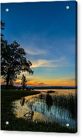 Tennessee Sunset Acrylic Print