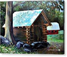 Tessentee Cabin Acrylic Print