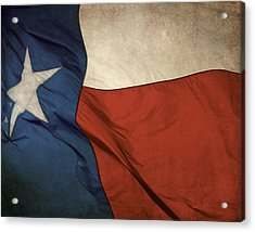 Rustic Texas Flag  Acrylic Print