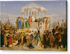 The Age Of Augustus The Birth Of Christ Acrylic Print