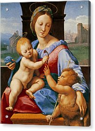The Aldobrandini Madonna Or The Garvagh Madonna  Acrylic Print