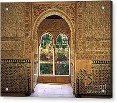 The Alhambra Torre De La Cautiva Acrylic Print