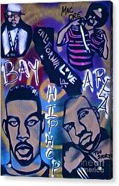 The Bay Area Acrylic Print by Tony B Conscious